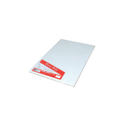 "John Boos P1099 Cutting Board, Reversible Poly, Shrink Wrapped, 6x8x.5"", White"