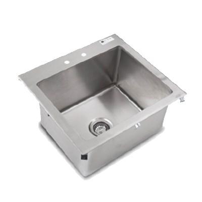 John Boos PB-DISINK201612 (1) Compartment Drop-in Sink - ...