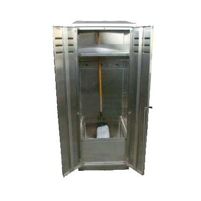 "John Boos PBJC-303084 Cabinet Mop Sink w/ 12""D Bowl"