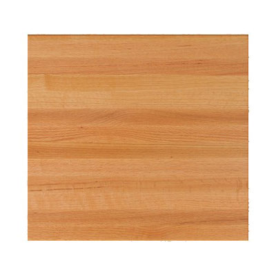 "John Boos RTO-2424 1.5"" Red Oak Butcher Block Table Top - 24""L x 24""D"