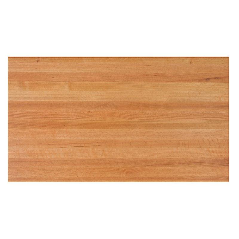"John Boos RTO-3048 1.5"" Red Oak Butcher Block Table Top - 48""L x 30""D"