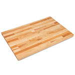 "John Boos SC001-O 1.75"" Maple Work Table Top - 36""L x 24""D"