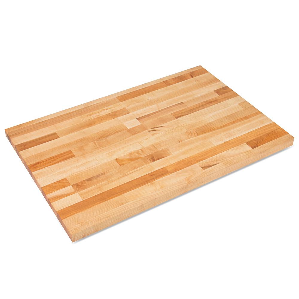 "John Boos SC015-O 1.75"" Maple Work Table Top - 96""L x 30""D"