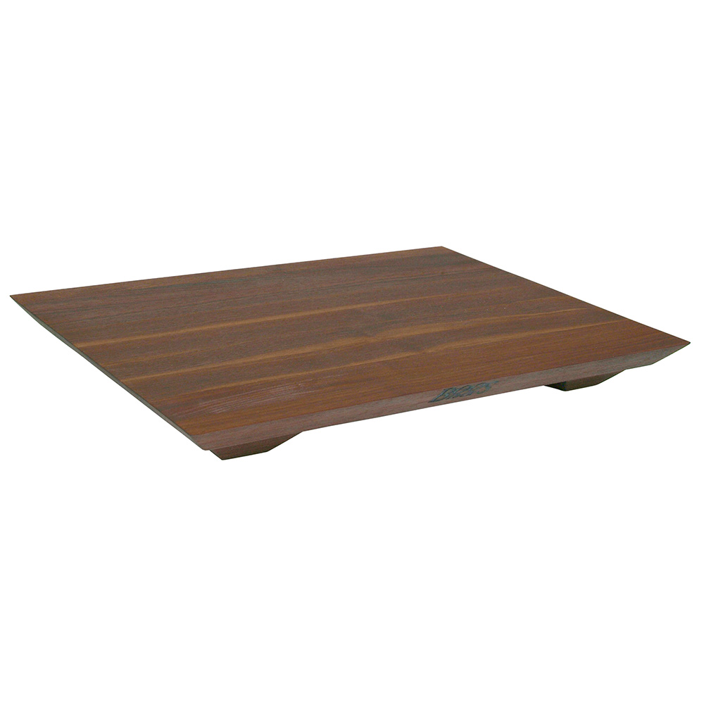 John Boos WAL-FB201501 Cutting Board Gift Collection w/ Wooden Legs, 15x20x1-in, Walnut