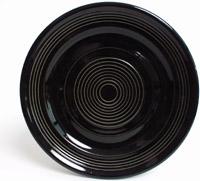 Tuxton CBA-062 Plate, 6-1/4 in Concentrix Black