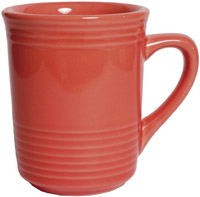 Tuxton CNM-085 Gala Mug, 8 oz, 3 in, Concentrix Cinnebar