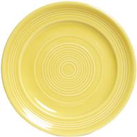 Tuxton CSA-104 Plate, 10-1/2 in Concentrix Saffron