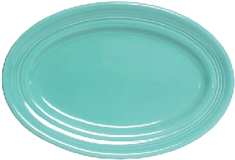 Tuxton CTH-116 Platter, 11-3/4 x 8-3/8 in, Oval, Concentrix Cilantro