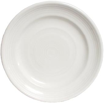 Tuxton CWA-062 Plate, 6-1/4 in, Concentrix Blanco