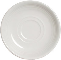 Tuxton CWE-060 Saucer, 6 in, Concentrix Blanco