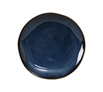 "Tuxton GAN-002 6-1/2"" Round Ceramic Plate - Night Sky"