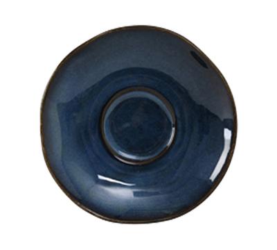"Tuxton GAN-084 6-3/8"" Ceramic Saucer - Night Sky"