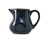 Tuxton GAN-100 4-oz Ceramic Creamer with Handle - Night Sky