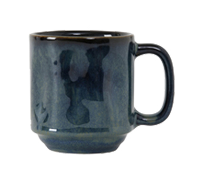 Tuxton GAN-150 12-oz Ceramic Yukon Mug - Night Sky
