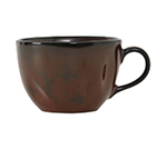 Tuxton GAR-083 10-1/2-oz Ceramic Cup - Red Rock