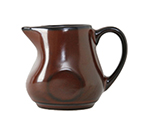 Tuxton GAR-100 4-oz Ceramic Creamer with Handle - Red Rock
