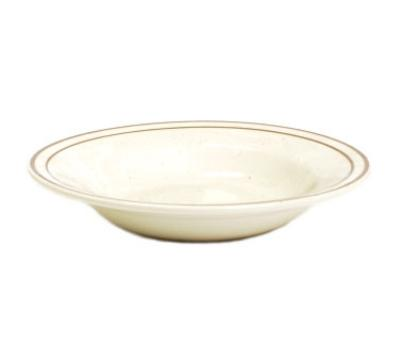 "Tuxton TBS-003 8.75"" Bahamas Soup Bowl - Speckled, (2) Brown Bands"