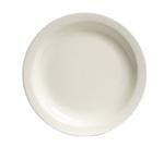 Tuxton TNR-009 American White Narrow Rim Plate, Nevada, Round