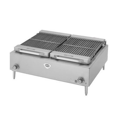"Wells B50 36"" Charbroiler w/ Cast Iron Grates, 208v/3ph"