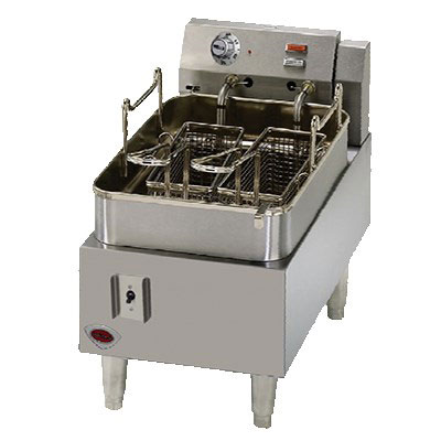 Wells F-15 Countertop Electric Fryer - (1) 15-lb Vat, 208-240v/1ph