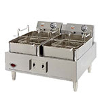 Wells F-30 Countertop Electric Fryer - (2) 15-lb Vat, 208-240v/1ph