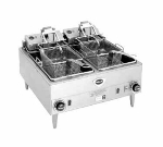 Wells F-88 240 Countertop Electric Fryer - (2) 15-lb Vat, 480v/3ph