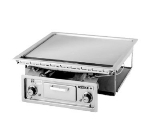 "Wells G-136 22"" Electric Griddle - Thermostatic, 1"" Steel Plate, 208v/3ph"