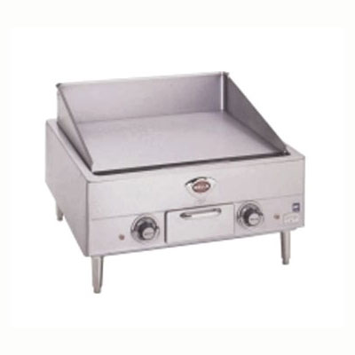 "Wells G-13 23"" Electric Griddle - Manual, 1/2"" Steel Plate, 208-240v/3ph"