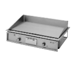 "Wells G-196 240 34"" Electric Griddle - Thermostatic, 1"" Steel Plate, 240v/1ph"