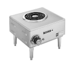 Wells H-33 120 Hot Plate w/ Single Flat Spiral Element, 120 V