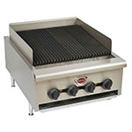 "Wells HDCB-2430G 24"" Radiant Charbroiler w/ Cast Iron Grates, LP/NG"