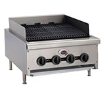 "Wells HDCB-3630G 36"" Gas Charbroiler w/ Cast Iron Grates - Manual, NG"