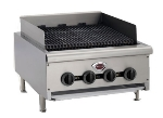 Wells HDCB4830G 48-in Radiant Charbroiler w/ Cast Iron Grates, LP/NG