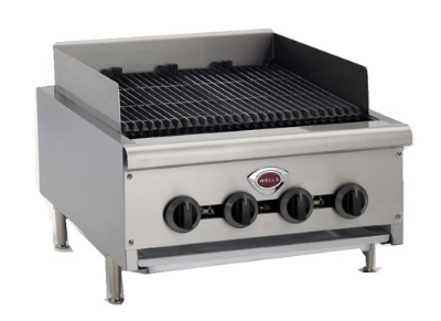 "Wells HDCB4830G 48"" Radiant Charbroiler w/ Cast Iron Grates, LP/NG"