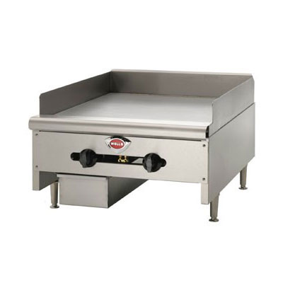 "Wells HDG3630G 35"" Gas Griddle - Manual, 3/4""  Plate, NG"