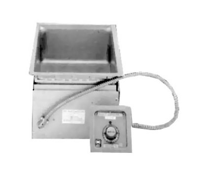 Wells MOD-100D-120 1-Pan Built In Food Warmer w/ Infinite Controls, Drain, 120 V