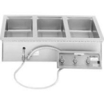 Wells MOD-127TD/AF Built In Food Warmer, Auto Fill, Drain, (4) 1/3-Size Pan, 208/240/1