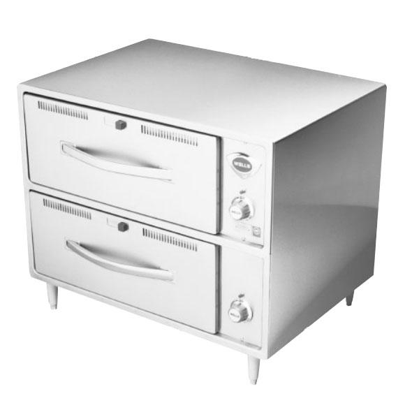 Wells RW-2HD 120 2-Drawer Warming Unit w/ Humidity & Thermostat Controls, 120 V