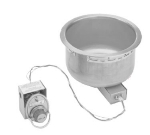 Wells SS-10D 120 11-qt Round Food Warmer w/ Drain, 120 V