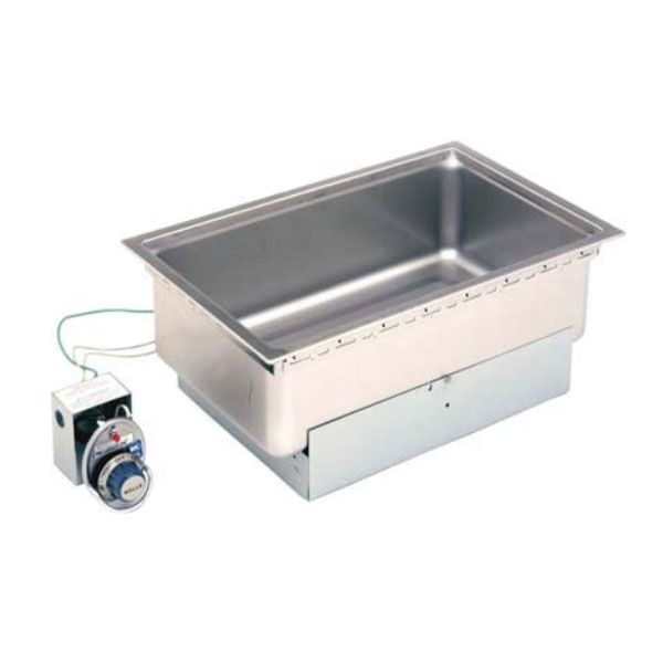 "Wells SS-206TDU Built-In Food Warmer w/ Drain, 12""x20"" Pan Opening, Thermostatic, 208-240v/1ph"