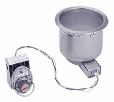 Wells SS-8D 7-qt Built In Food Warmer w/ Drain, 208/240/1 V