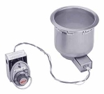 Wells SS-8TD 120 7-qt Round Food Warmer w/ Thermostatic Control, Drain, 120 V