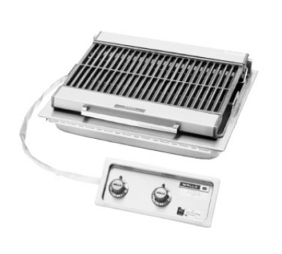"Wells B-406 240 25"" Built In Radiant Charbroiler w/ Cast Iron Grate, 240/3 V"