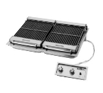 "Wells B-506 208 36"" Built In Charbroiler w/ Cast Iron Grate, 208/3 V"