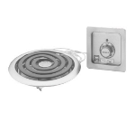 Wells H-336 Built In Hotplate w/ Flat Spiral Element, 208/240/1 V