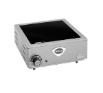 Wells HC-125 Hot Plate w/ 9-in Glass Ceramic Element & 1-in Legs, 208/240/1 V