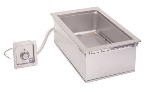 Wells HW/SMP-6D 1-Pan Built In Cook N Hold Warmer w/ Drain, 208/240/1 V