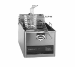 Wells LLF-14 Countertop Electric Fryer - (1) 14-lb Vat, 208v/1ph