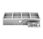 Wells MOD-400DM Built In Food Warmer, Manifold Drain, Infinite, 4-Pan, 208/240/3 V