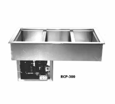 "Wells RCP-300 45"" Drop-In Refrigerator w/ (3) Pan Capacity, Cold Wall Cooled, 115v"